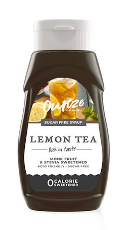 Lemon Tea Keto Syrup | ไซรัปหญ้าหวาน กลิ่นชามะนาว