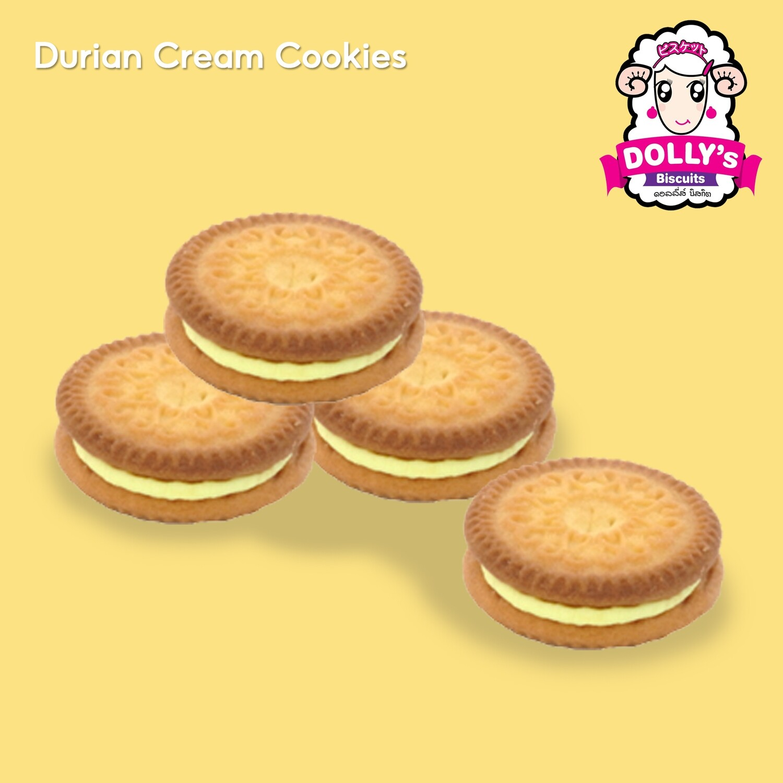 Durian Cream Cookies 450g | คุ้กกี้ครีมทุเรียน 450g