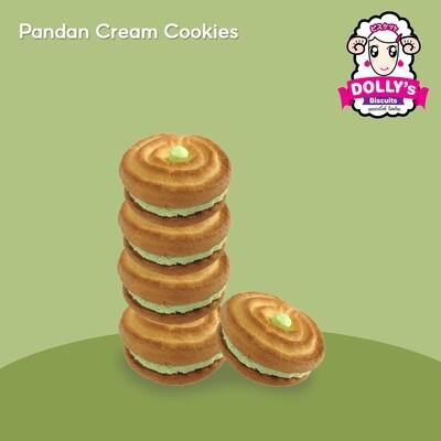 Pandan Cream Cookies 450g | คุ้กกี้ครีมใบเตย 450g