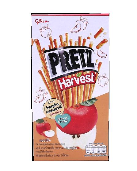 Pretz Harvest Apple Taste | เพรทซ์ ฮาร์เวสท์ รสแอปเปิ้ล