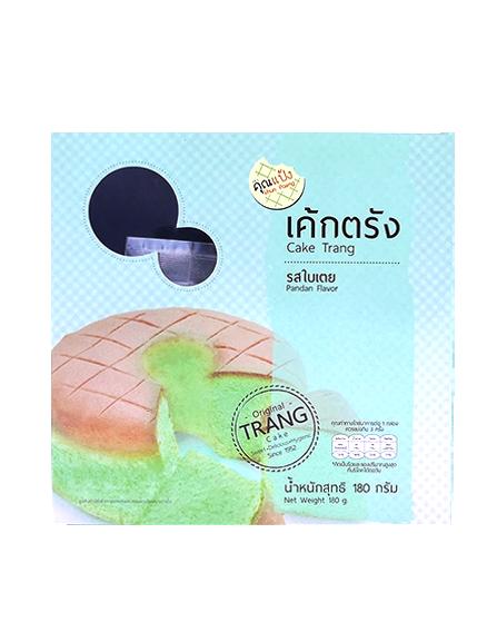 Cake Trang Pandan Flavor | เค้กตรัง รสใบเตย