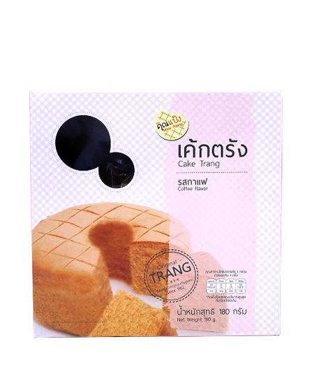 Cake Trang Coffee Flavor   เค้กตรัง รสกาแฟ