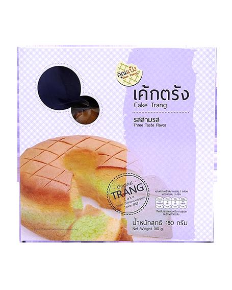 Cake Trang Three Taste Flavor   เค้กตรัง รสสามรส