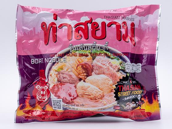 Instant Vermicelli Noodles with Sukiyaki Soup | วุ้นเส้นสุกี้ยากี้