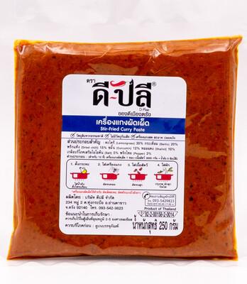 Stir-Fried Curry Paste   เครื่องแกงผัดเผ็ด