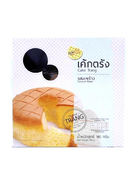 Cake Trang Coconut Flavor | เค้กตรัง รสมะพร้าว