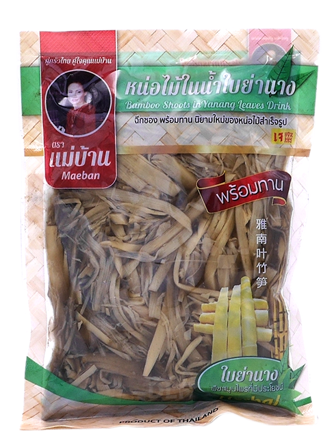 Bamboo Shoots in Yanang Leaves Drink: Shredded | หน่อไม้ชนิดฝอยในน้ำใบย่านาง