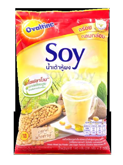 Ready Mixed Soy Powder Less Sugar Formula   น้ำเต้าหู้ผงปรุงสำเร็จ (28g*5)