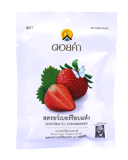 Dehydrated Strawberry | สตรอว์เบอร์รี่อบแห้ง