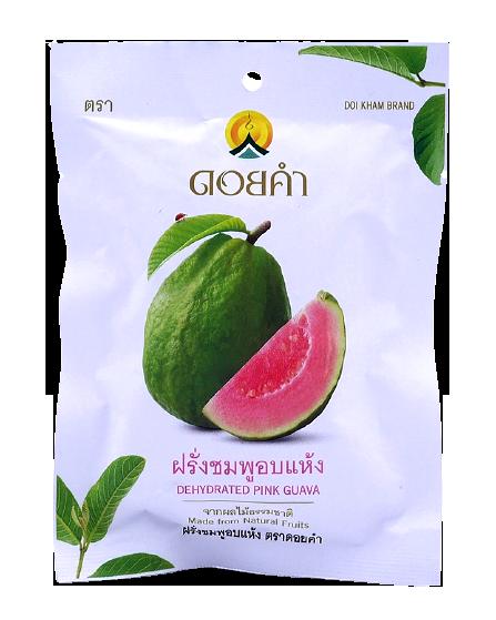 Dehydrated Pink Guava | ฝรั่งชมพูอบแห้ง