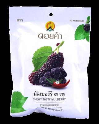 Dehydrated Chewy Tasty Mulberry   มัลเบอร์รี่ ๓ รส