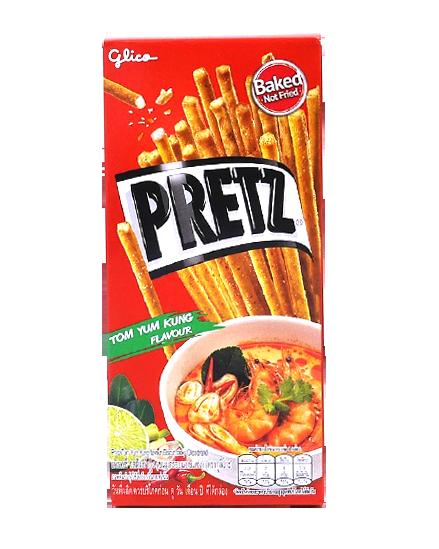 Pretz Tom Yum Kung Flavour | เพรทซ์ รสต้มยำกุ้ง
