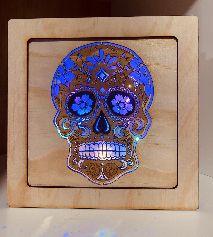 Sugar Skull Lightbox