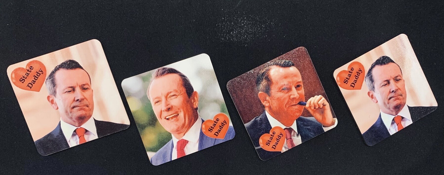 State Daddy Coasters