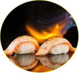 saumon box au feu (10 pcs)