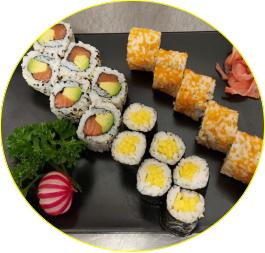 Sushi mix (18 pcs)
