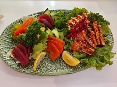 Tataki de saumon (12 pcs)