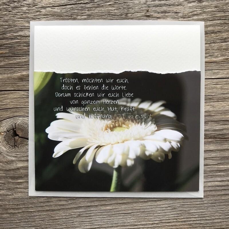 Trauer-Fotokarten
