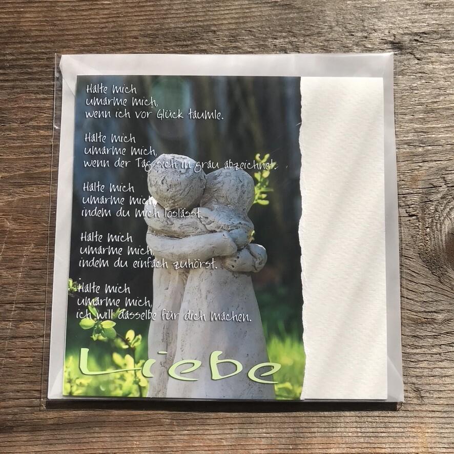Liebe-Fotokarte