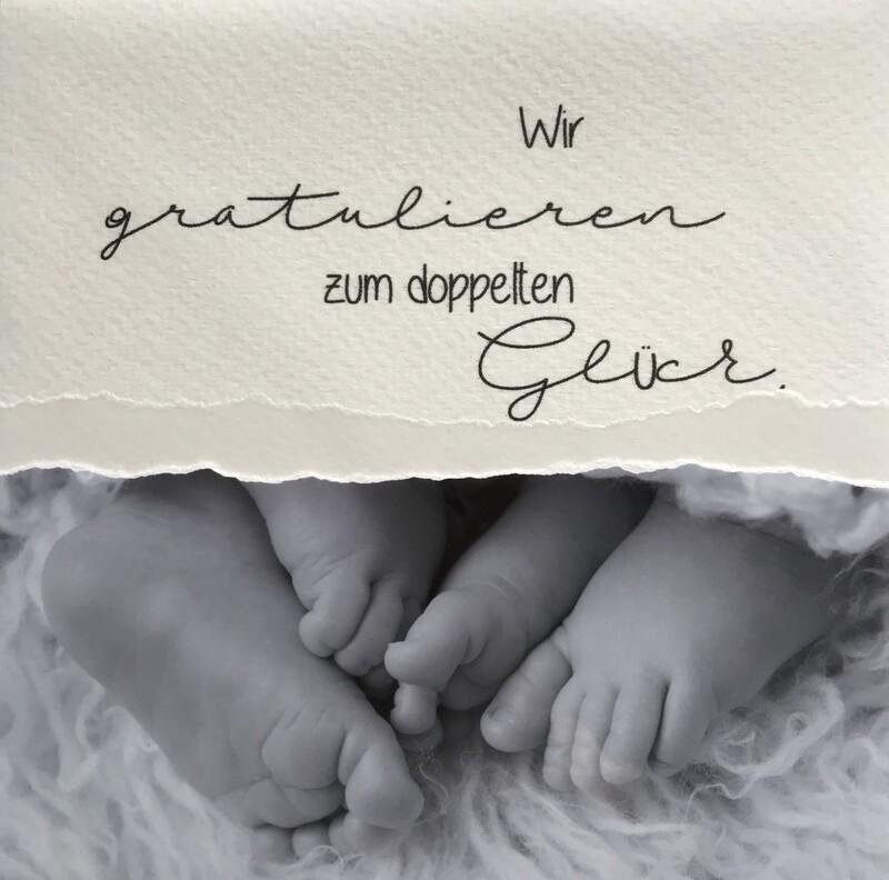 Baby-Fotokarte