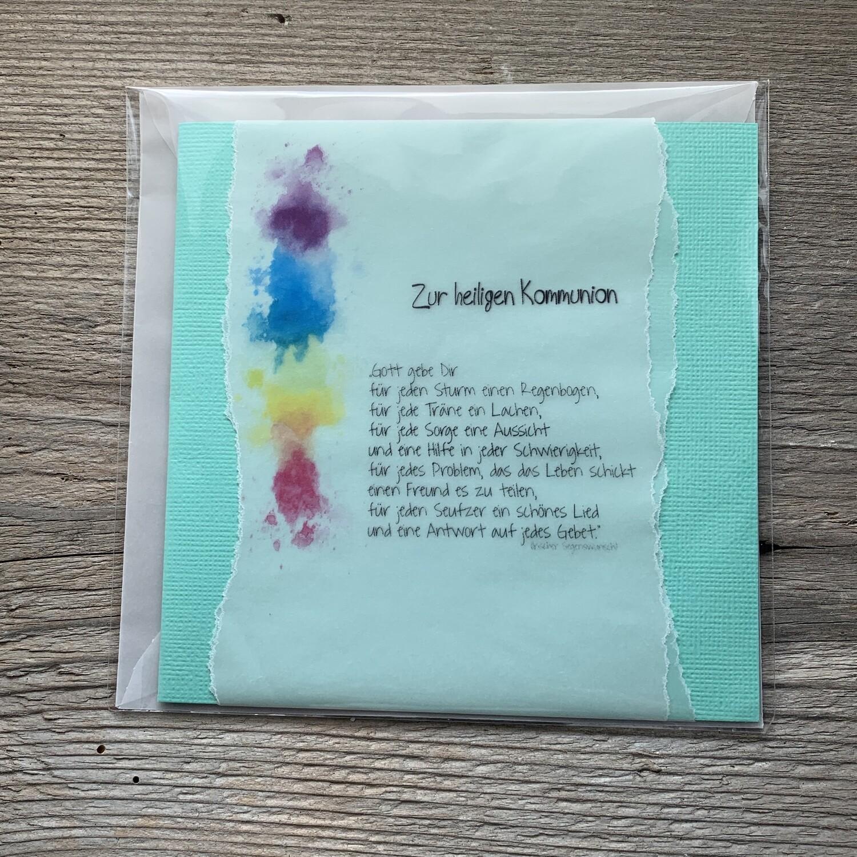 Erstkommunion-Regenbogen