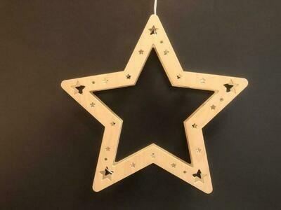 Weihnachtsleuchter Stern
