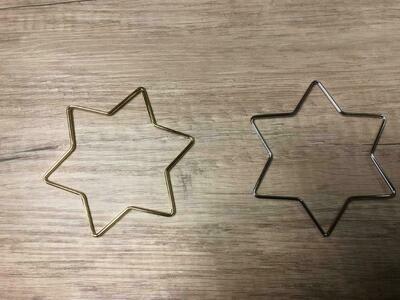 Hängerform Stern