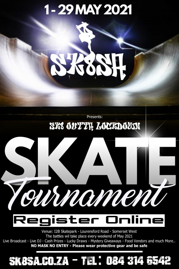 1 Day Event Pass - Sk8 outta lockdown