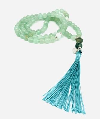 Tasbih 99 Beads - Natural Aventurine & Amazonite