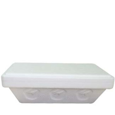 Medac Styrofoam Takeout Container