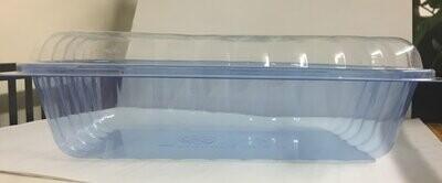 Alcas Porzionabile Bio 1000cc Container **BLUE** with Dome Lid