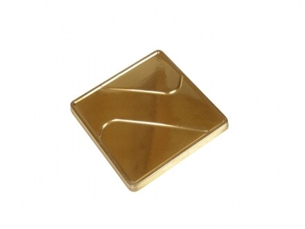 Pavoni Gold Square Tray