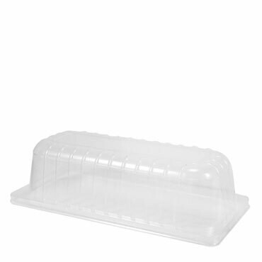 Alcas **6cm**Domed Lid for Gelatiera Container  (Transparant 4750cc)
