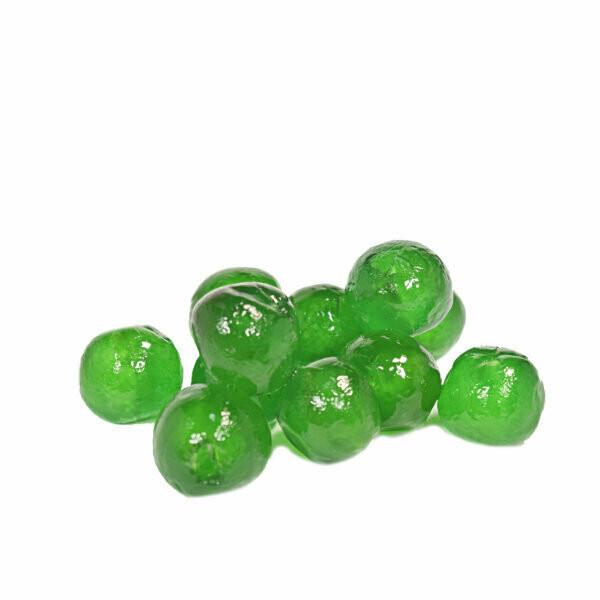 Nappi Green Glazed Cherries (18-20)