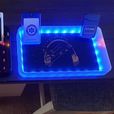 Back Lit Rolling Tray
