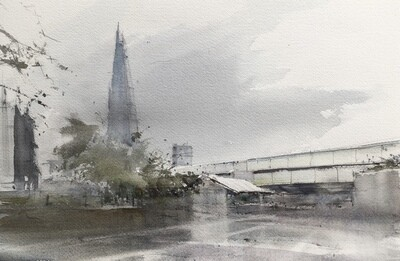 The Shard, from Cathedral Street, London
