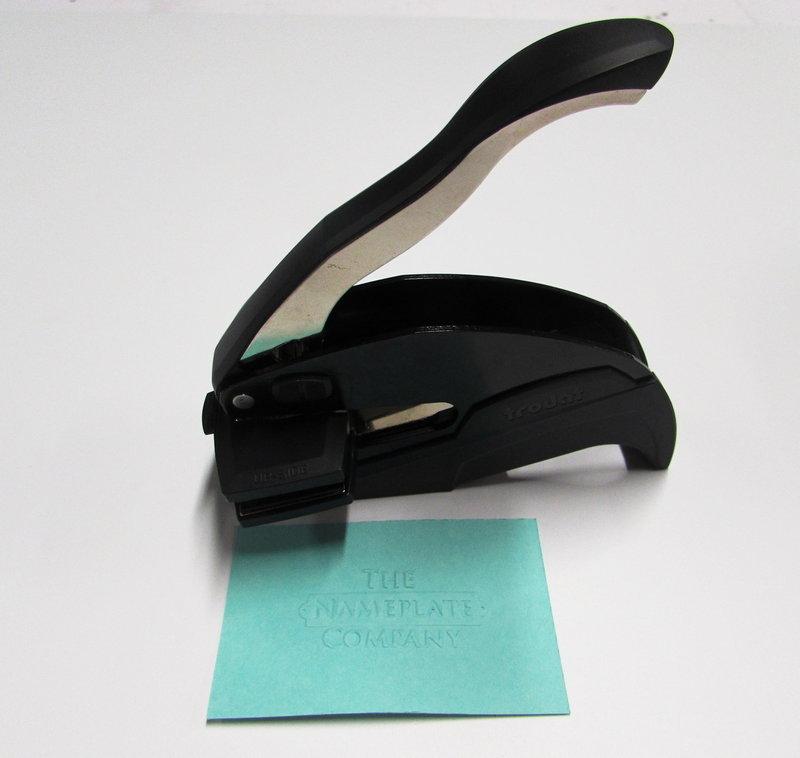 Trodat Plier & Desk type seal 50 x 25mm (Rectangular)