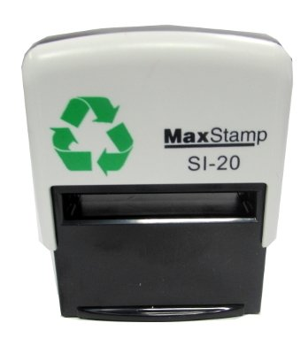18 x 47mm Max Stamp Standard Self Inking Black (2-3 lines of text max.)