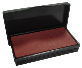 Red Ink Pad (For 37 x 76mm Max Dater Stamp)