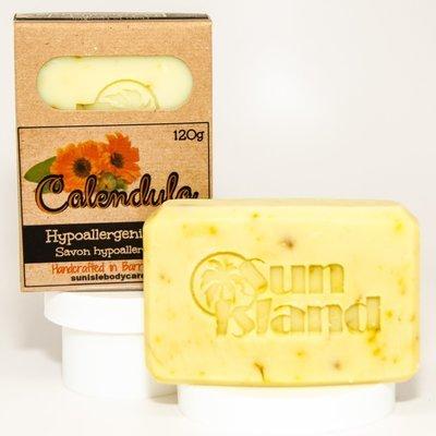 Calendula Fragrance Free Hypoallergenic Soap Bar NFSB002