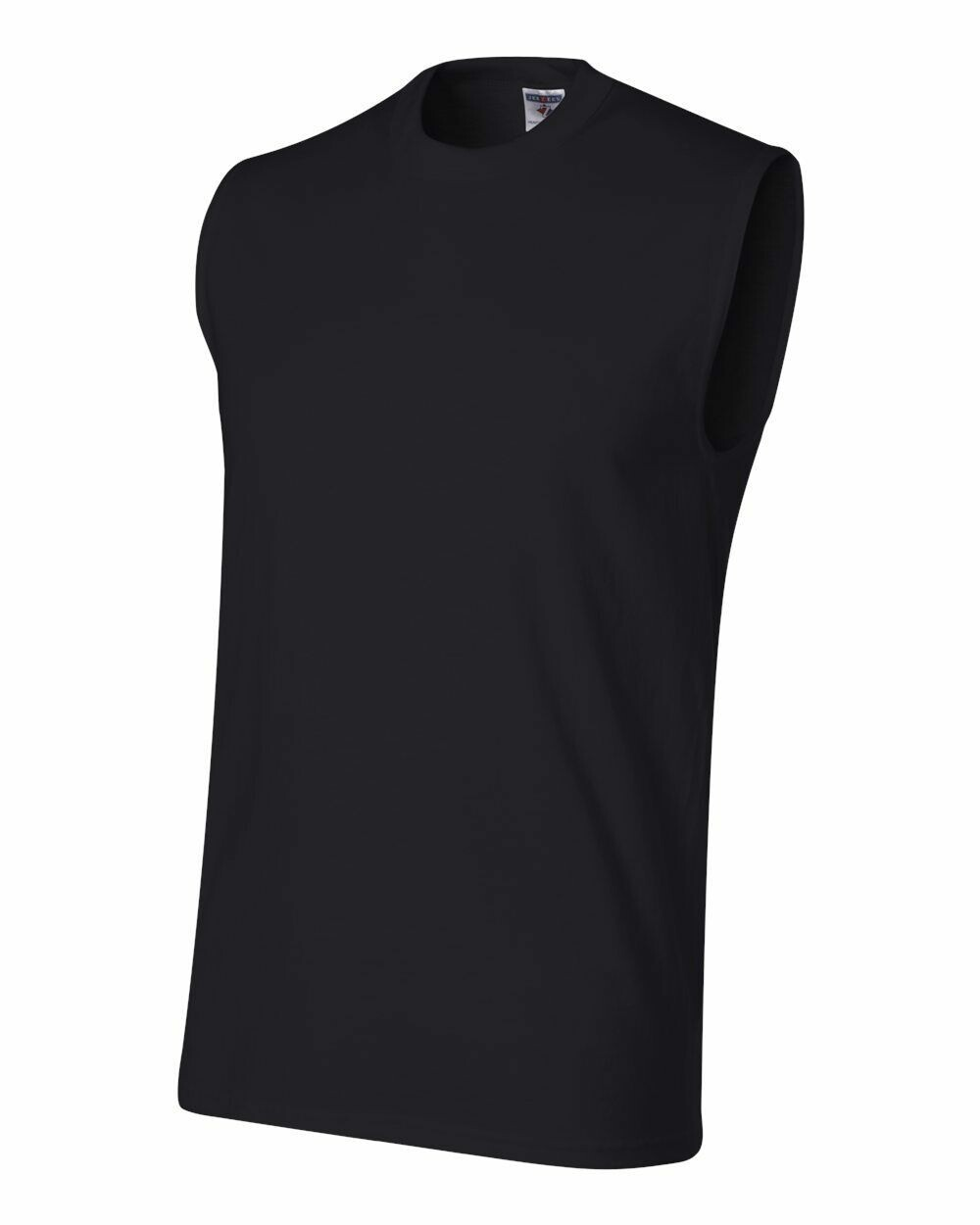 Jerzee Muscle Sleeveless HiDensi-T t-shirt 49MR S-XL 100%cotton