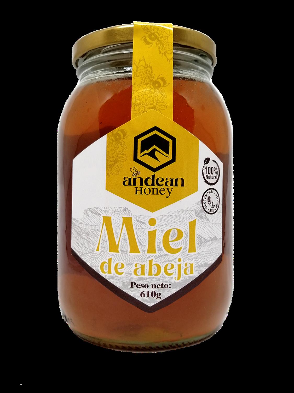 Miel de abeja natural 610 g