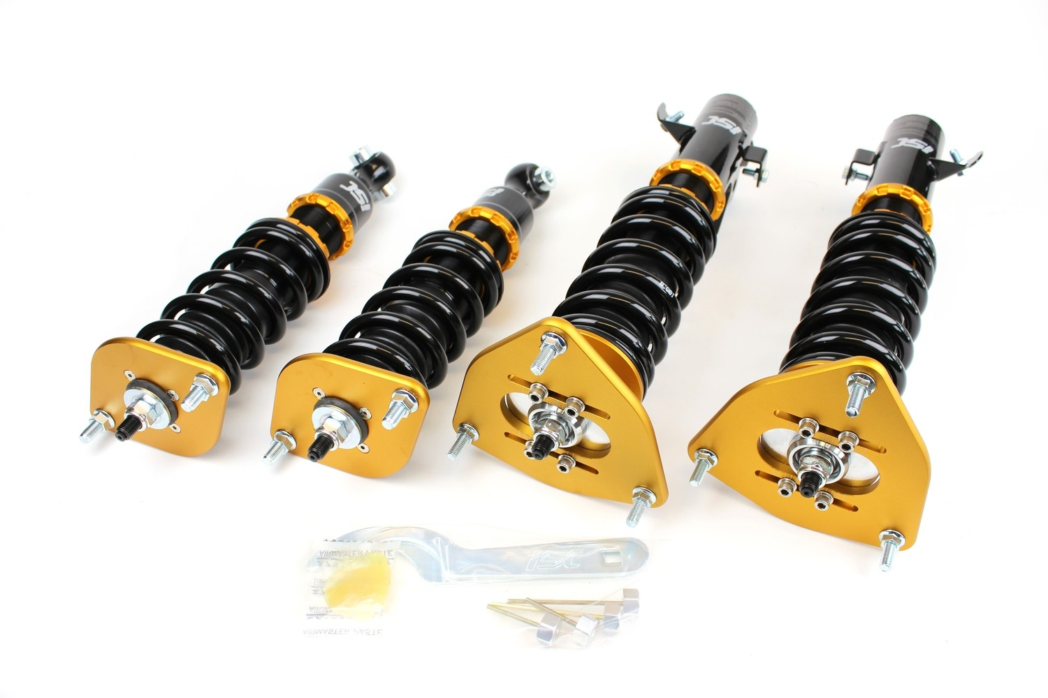 NEW: Subaru WRX 08-14 ISC N1 V2 Ultra Low Coilover Suspension