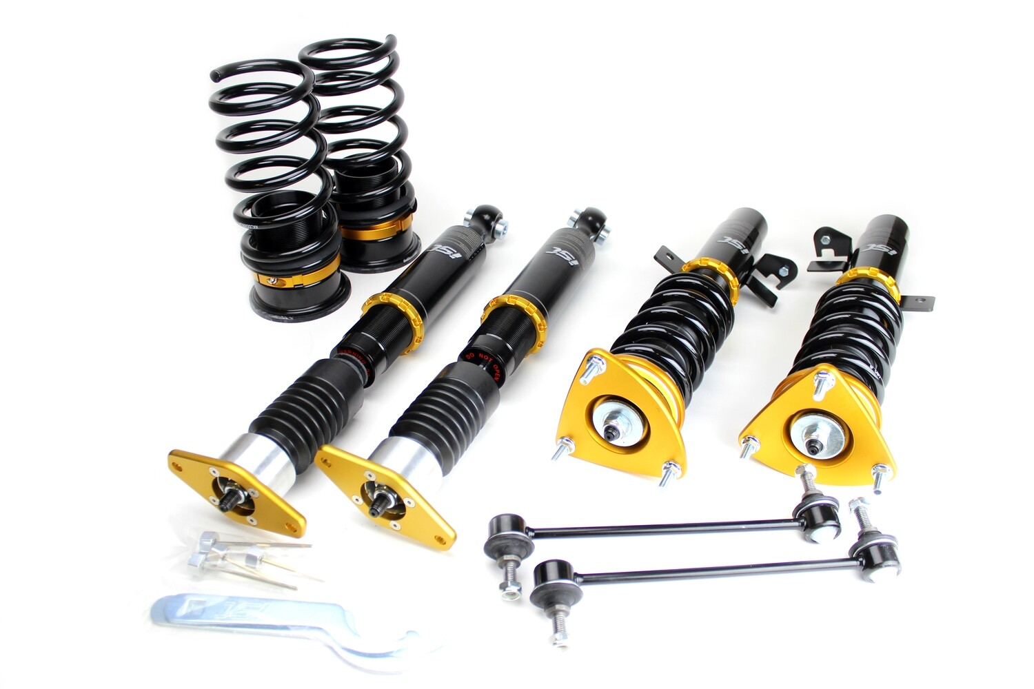 Ford Mustang S550 Chassis 2015+ ISC Basic Coilover Suspension