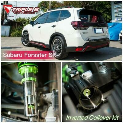 Subaru SJ Forester Triple S Inverted Coilover