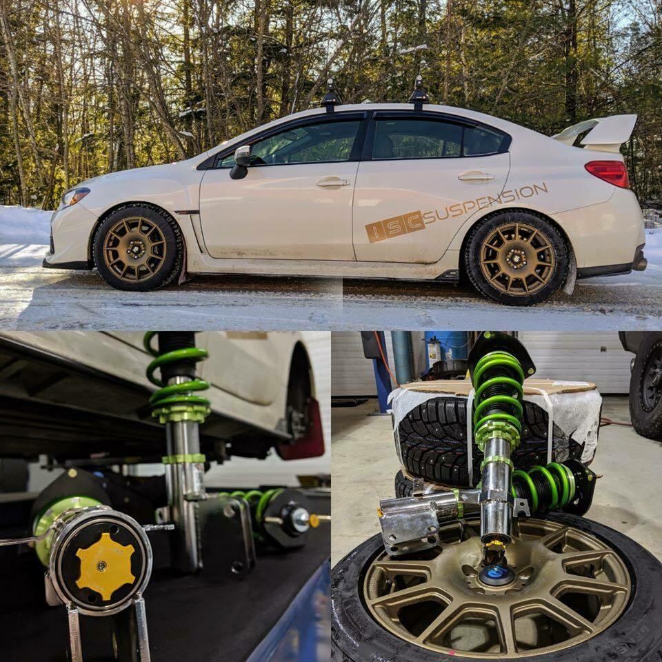 Subaru 2015+ WRX/STi Triple S Inverted Coilover