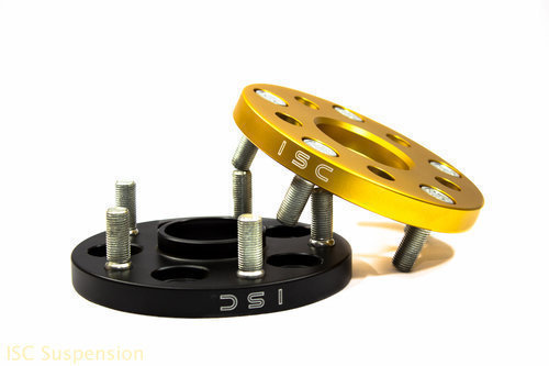 BLACK ISC 5x100 to 5x114.3 Wheel Adapter 15mm