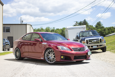 Lexus ISF (08-14) ISC V2 Basic Coilover Suspension