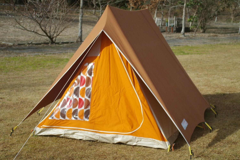 マルシャル カナディアン ブラウン 2-3人用 美品 コットンテント ソロキャンプ Marechal