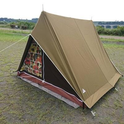 パジャマムーンオリジナル リトルウイング3 A型テント ヴィンテージテント<ラピスタ>
